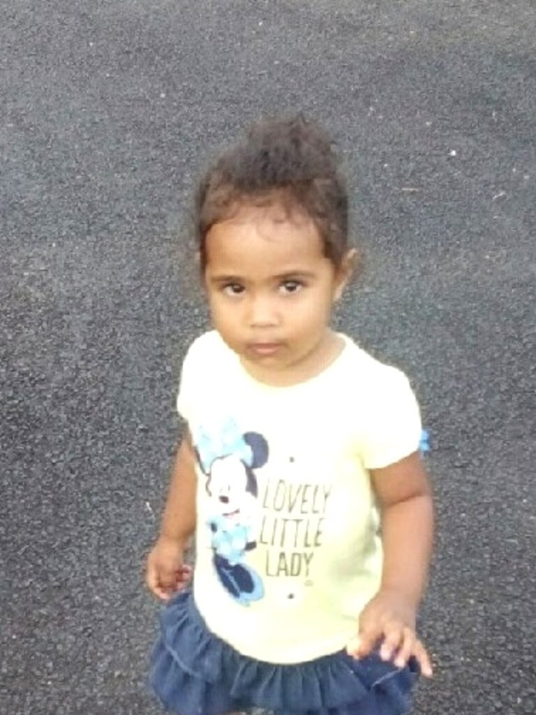 Kaydence Dawita Mills is believed to have been missing since 2017, according to extended family members. Police recently dug up the Chinchilla backyard of her mother Sinitta Dawita's house as part of a