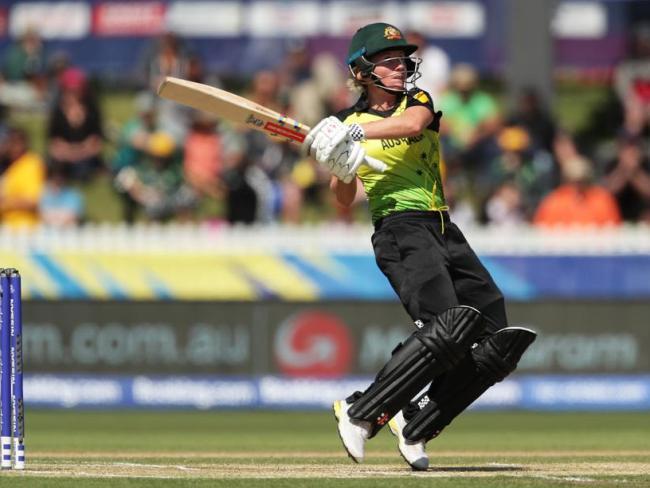 Beth Mooney's fifth half century in nine T20Is set the platform for Australia.