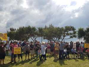 Park's permanent residents take Kirra rally to council