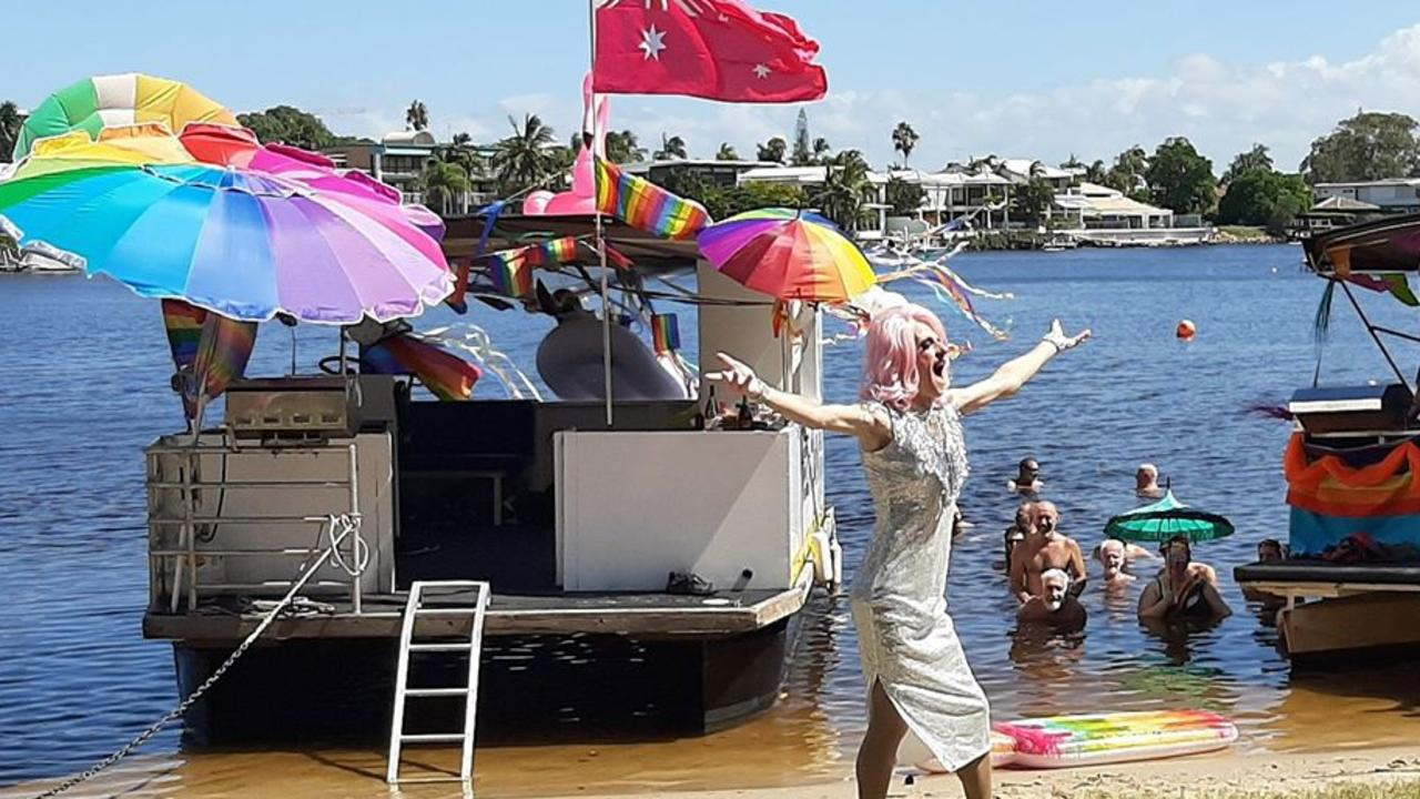 PRIDE: All the colourful fun and games from Noosa's Rainbow River Festival.