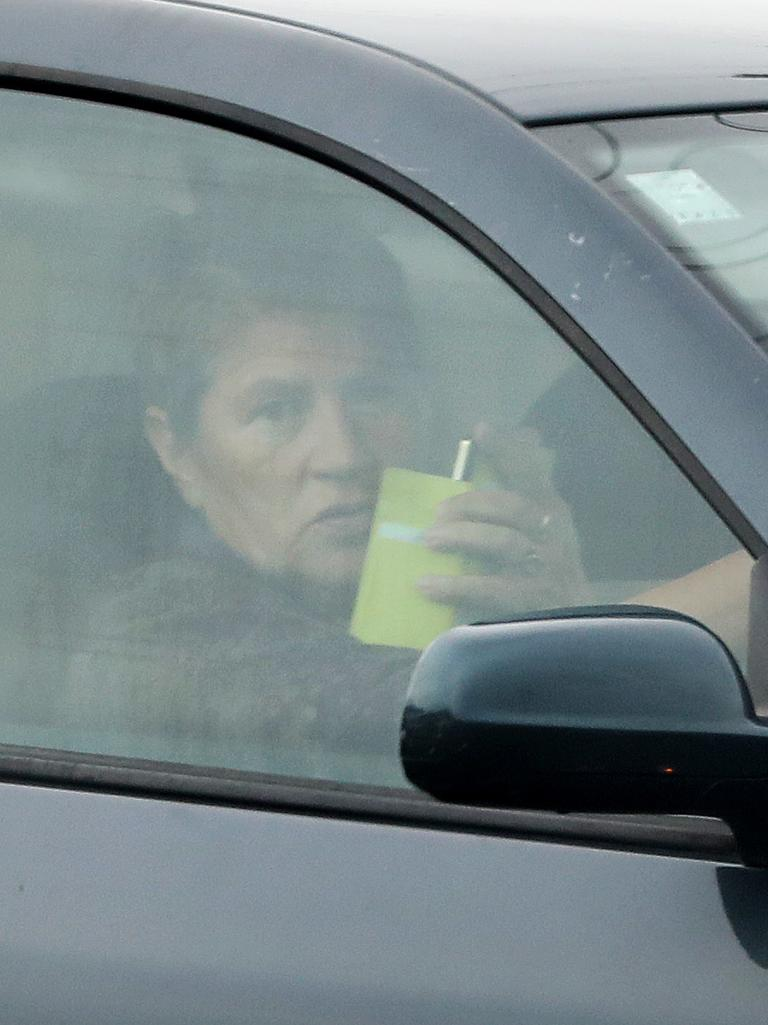 Joel Morehu-Barlow's mother Andre filmed The Courier-Mail from her car. Picture, Liam Kidston