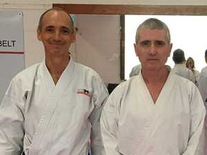 Incredible chance to learn from world karate champion