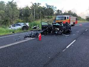 UPDATE: Man airlifted to Brisbane after Yeppoon Rd crash