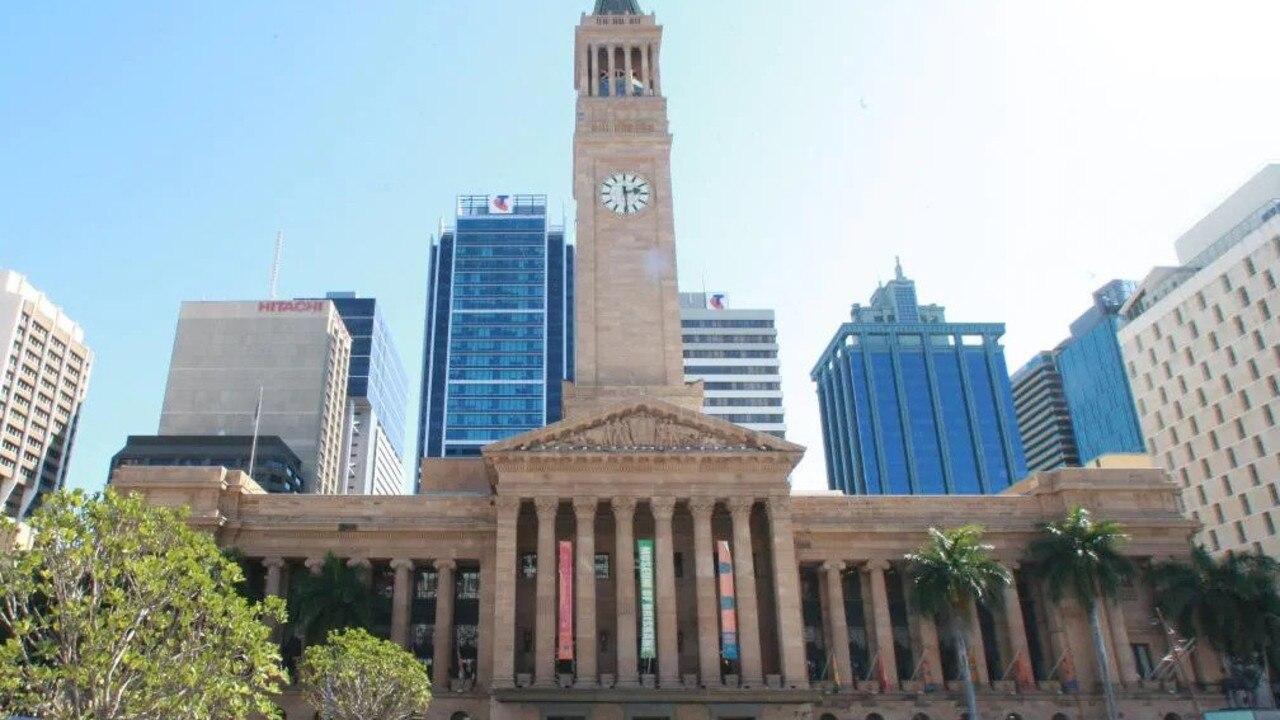 Brisbane City Hall in Brisbane CBD.
