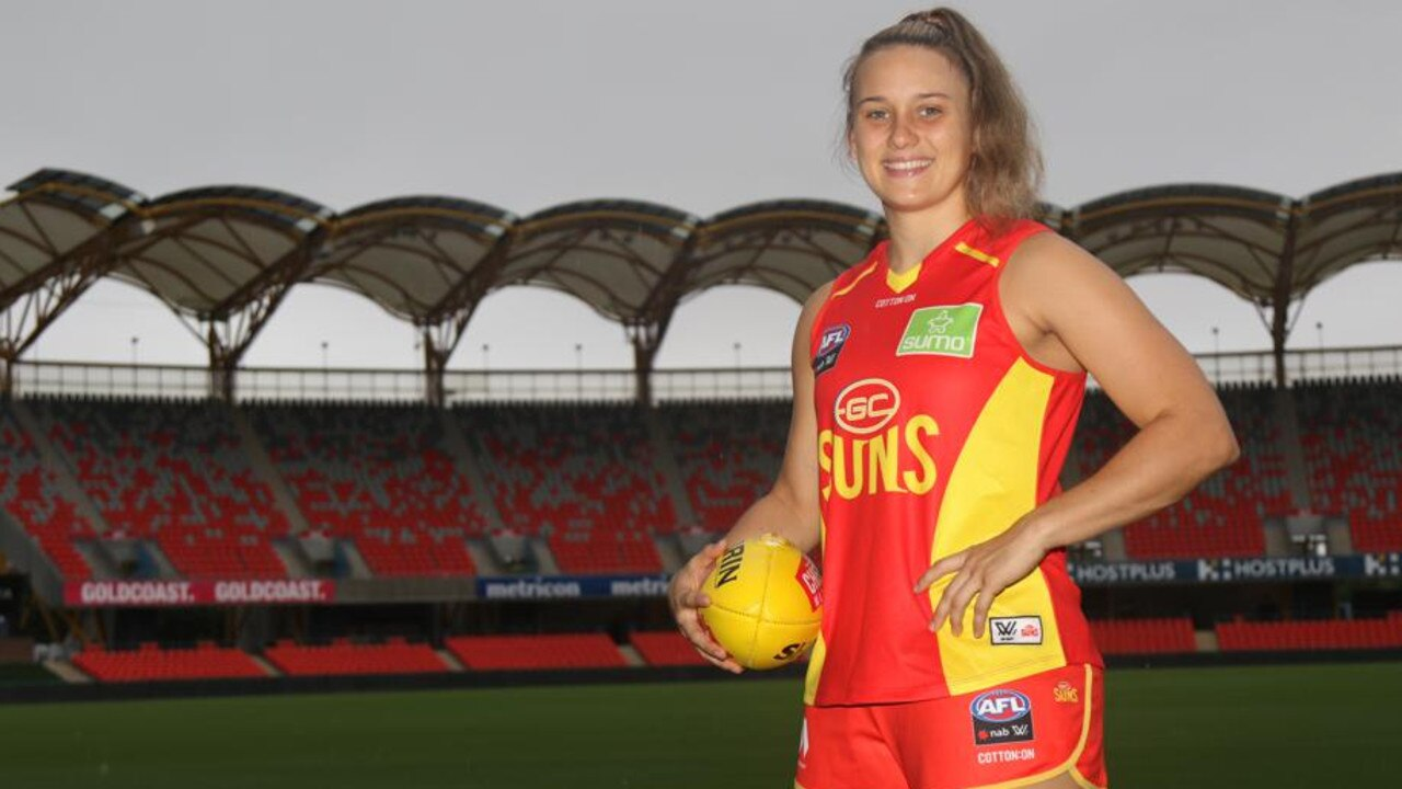 North Queensland product Ellie Hampson made her AFLW debut in Round 2 against Richmond.