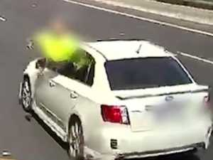 'Glassed': Road rage against truckie caught on dashcam