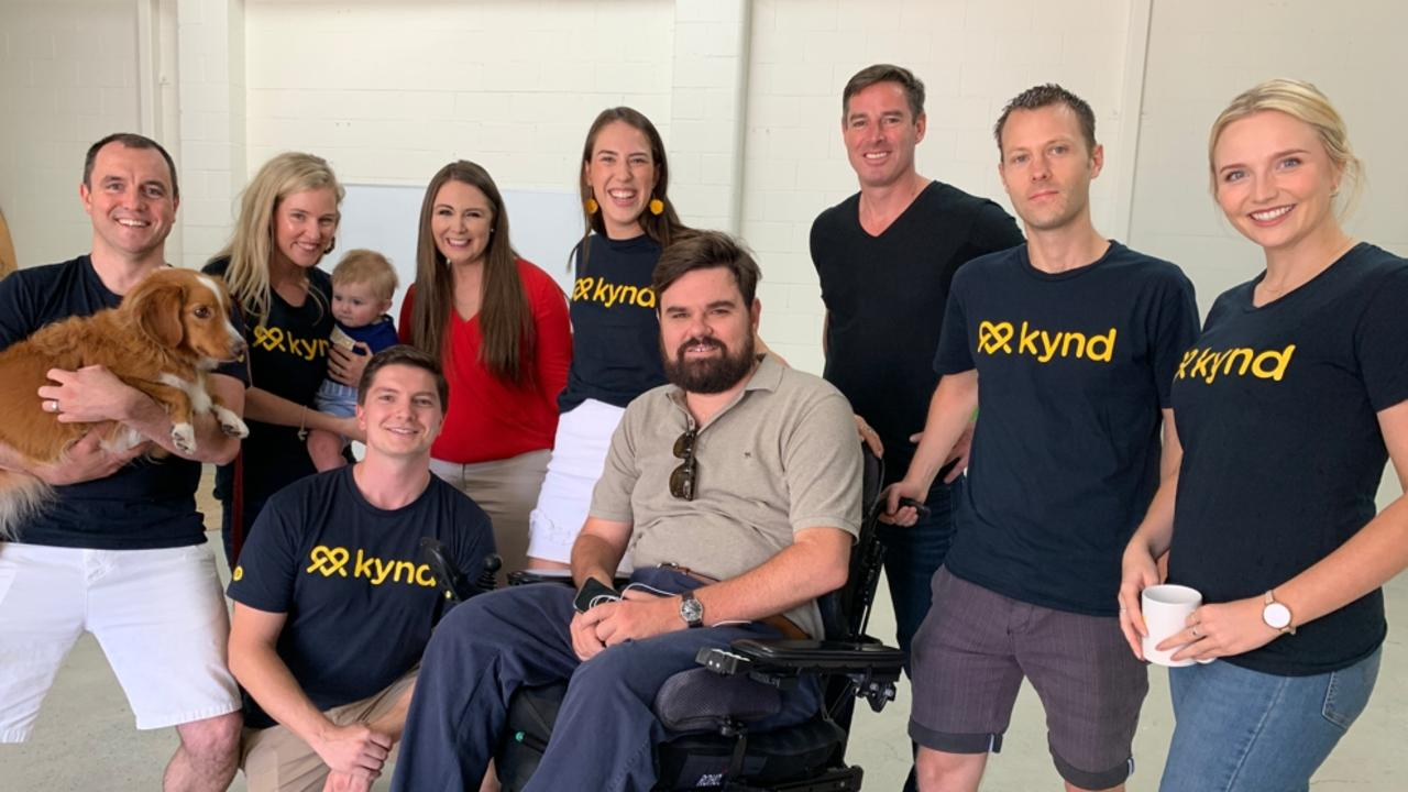 Gold Coast start-up Kynd has developed an app to help make life easier for people with a disability on the Gold Coast and Tweed.