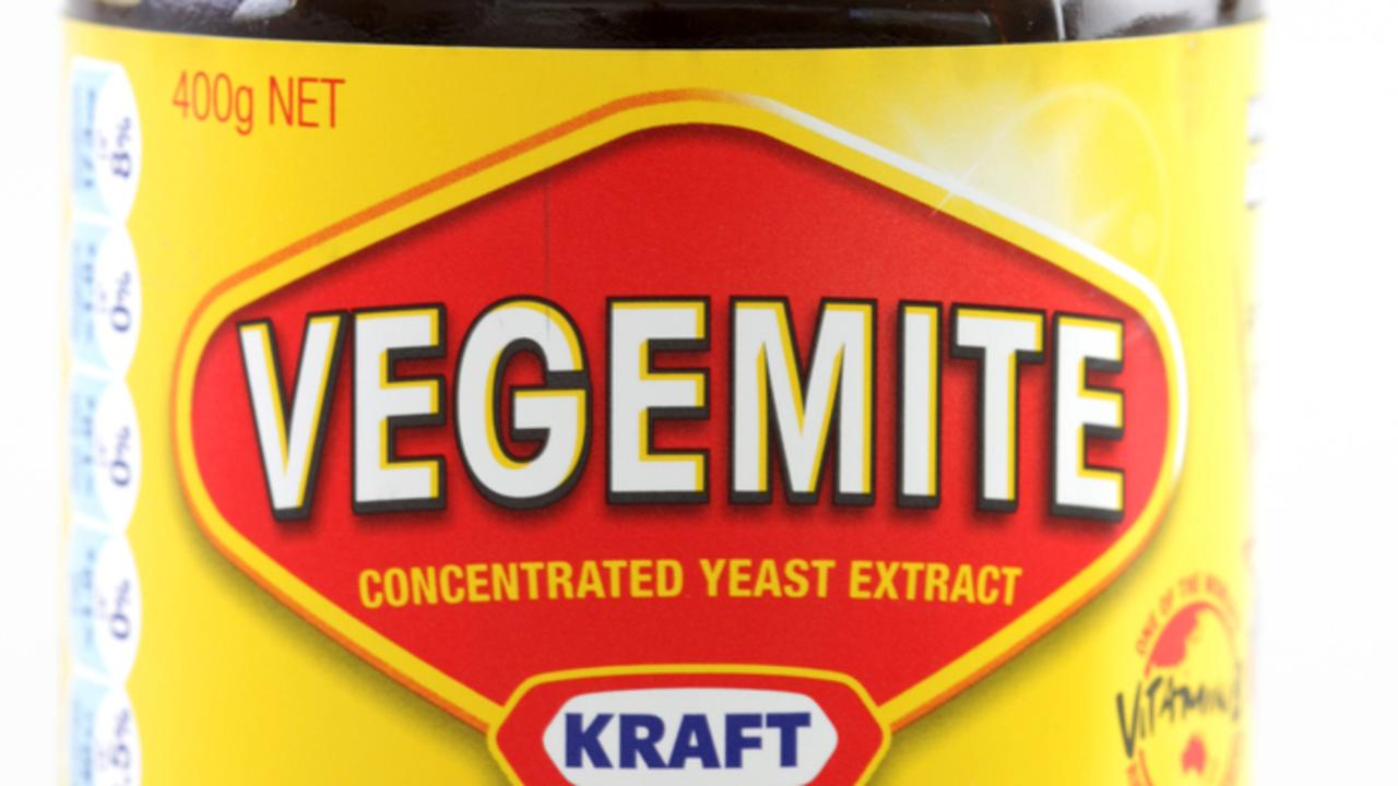 Glass Jar of Vegemite made by Kraft.