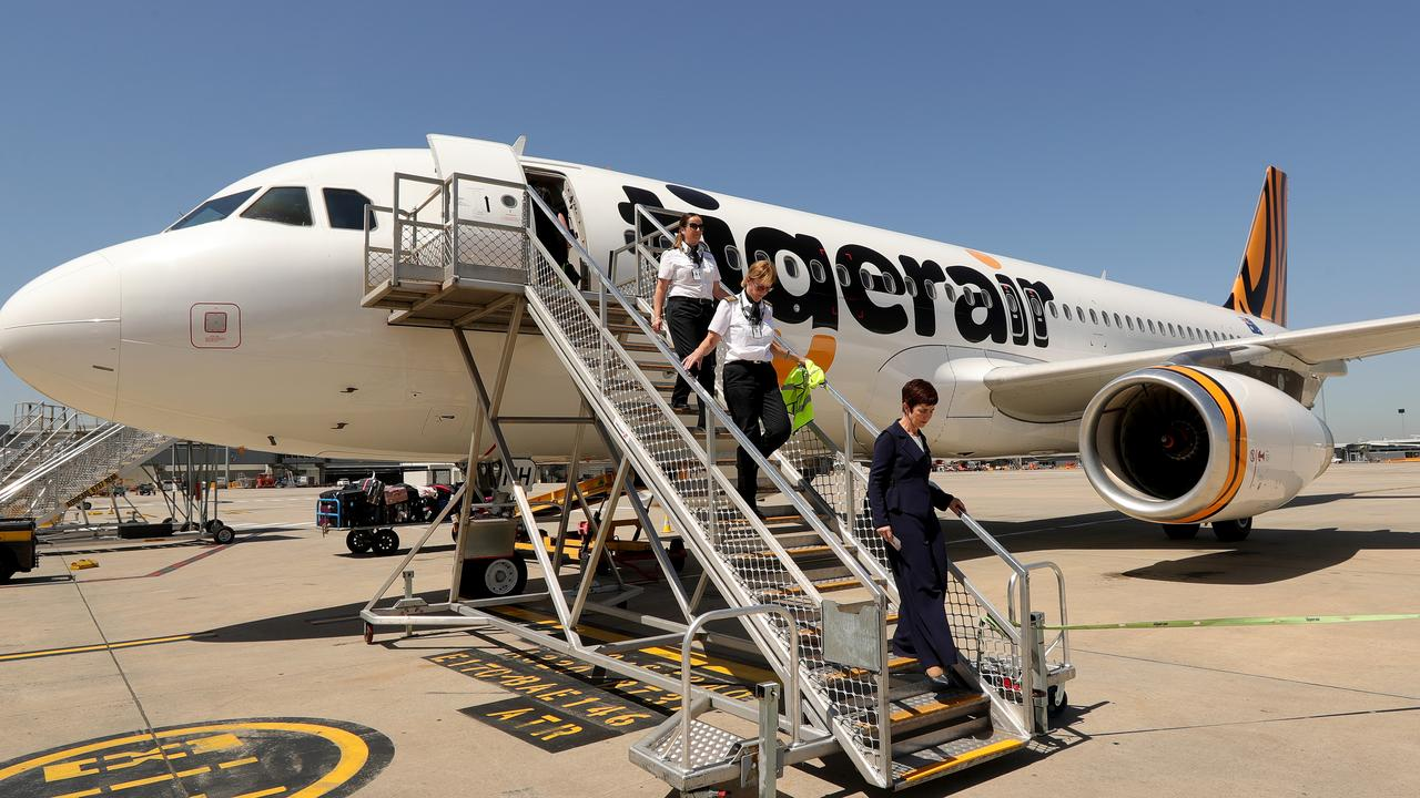 Tigerair's flights have been cut and its fleet reduced as part of moves to make the low-cost carrier more efficient. Photo: Stuart McEvoy/The Australian.