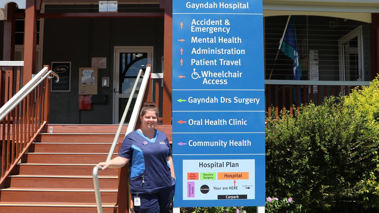 Bundaberg's Brooke Davic has returned to Gayndah after falling in love with the region last September. Picture: Julian Lehnert