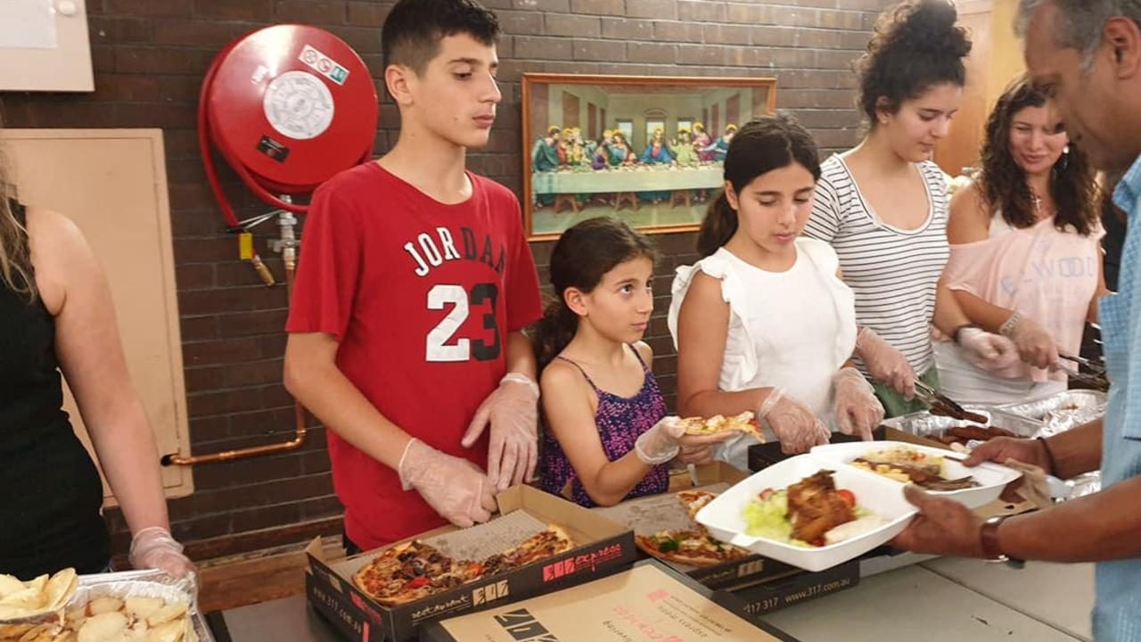 Anthony, 13, Angelina, 12, and nine-year-old Sienna Abdallah were active members of the Team Jesus Foundation in Blacktown, in Sydney's western suburbs, where they helped serve food to people in need.