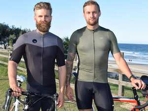 Cyclists on track to help bushfire victims