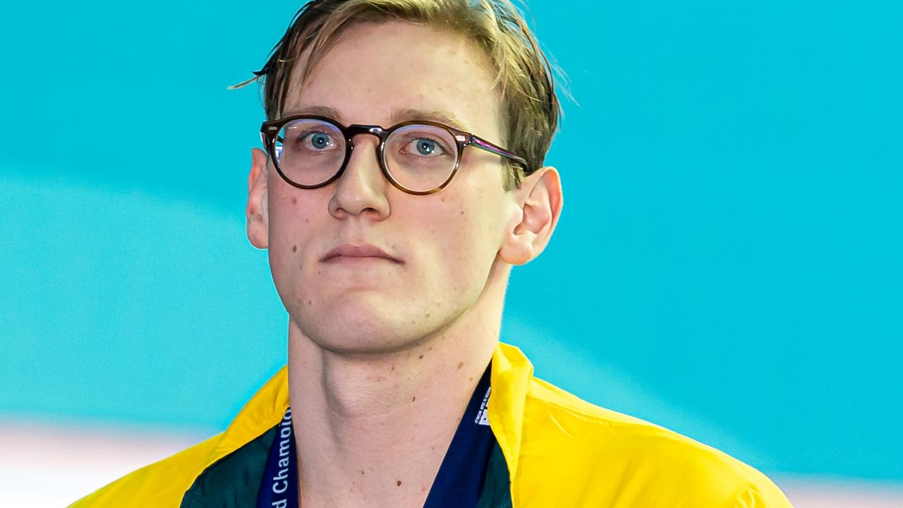 Mack Horton has been receiving death threats over his stance against Sun Yang.