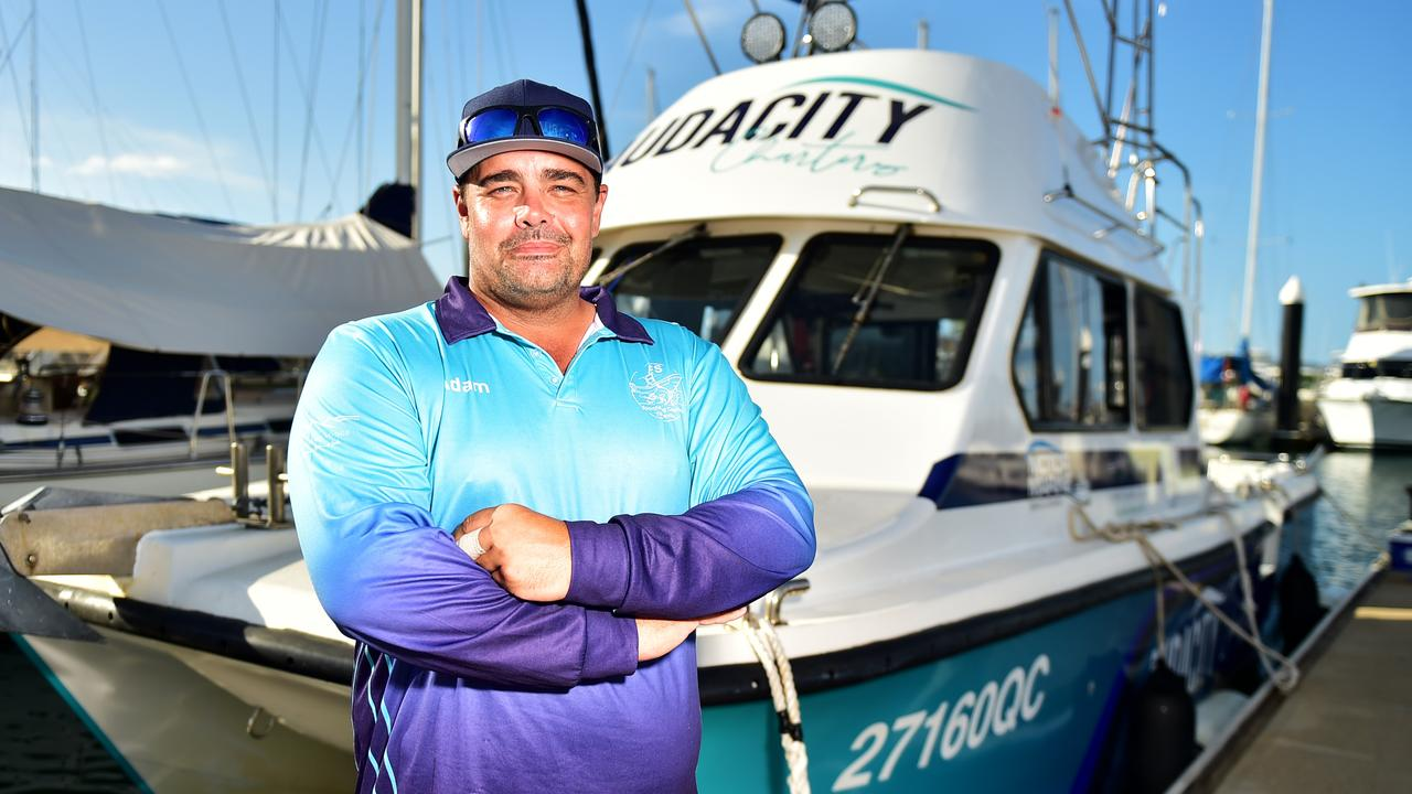 Adam Finlay of Audacity Charters is one of Townsville's top fishing charter guides.