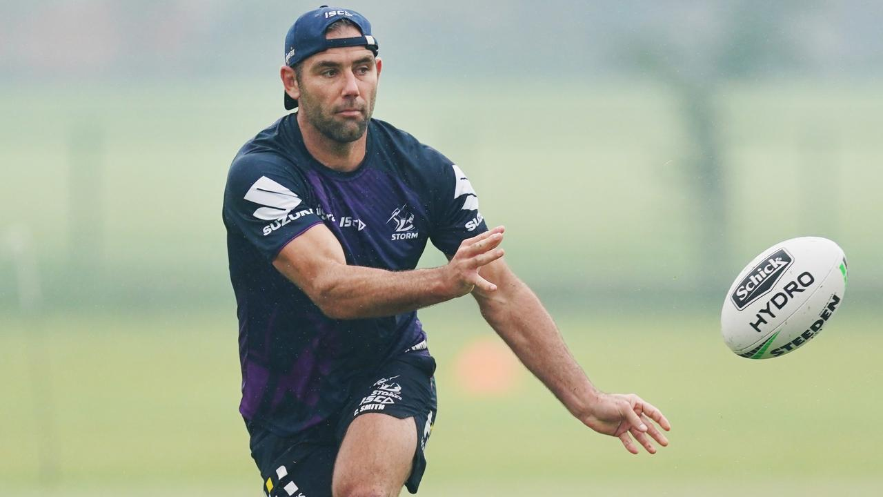 Cameron Smith is contracted with the Storm until the end of this season. Picture: Getty Images