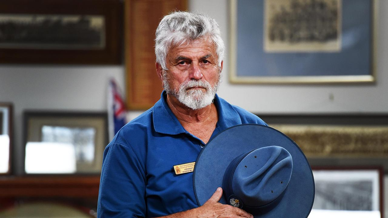 Former Maryborough RSL Sub-branch president George Mellick pleaded guilty to assaulting a war veteran on Remembrance Day last year. Photo: File.