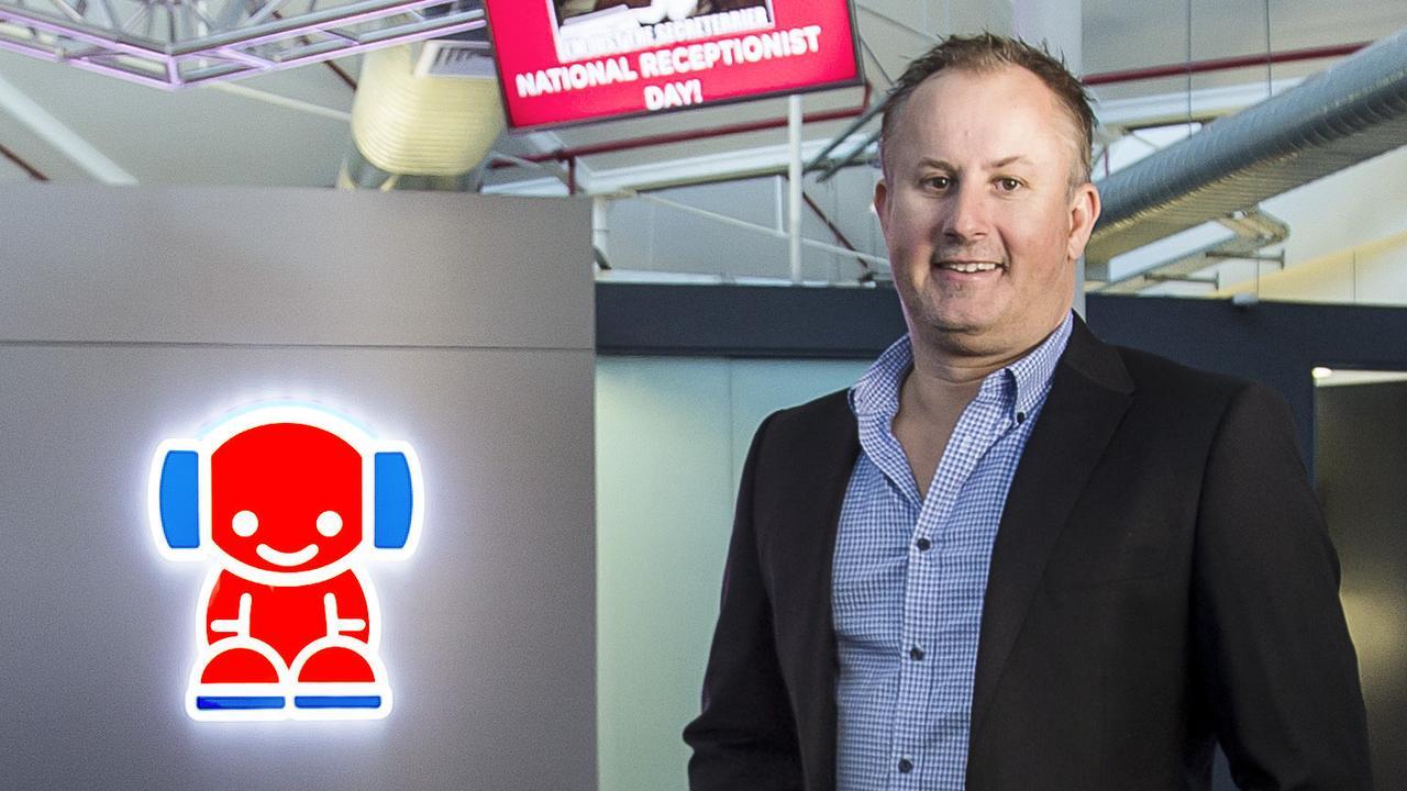 Nova general manager Jay Walkerden at the Brisbane studios. Picture: Mark Cranitch.