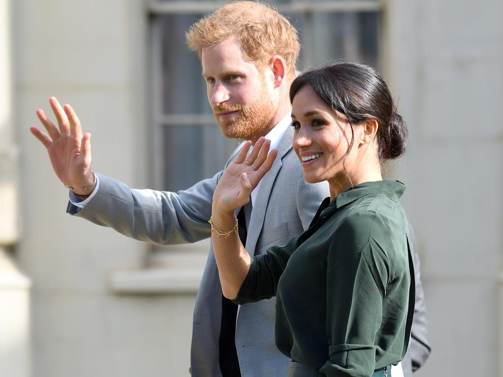 Prince Harry and Meghan Markle, pictured in 2018. Picture: Karwai Tang/WireImage