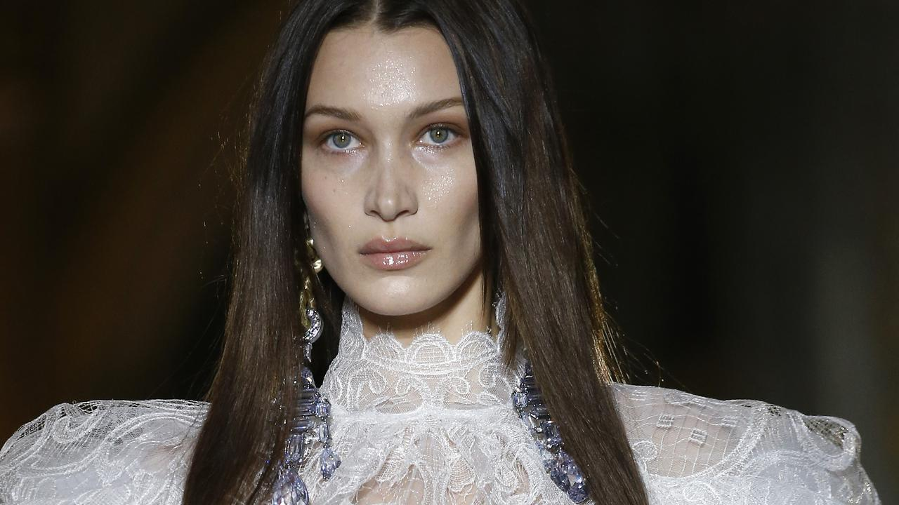 We're used to seeing the supermodel in skimpy swimwear but Bella Hadid left even less to the imagination when she stepped out in a very revealing gown.