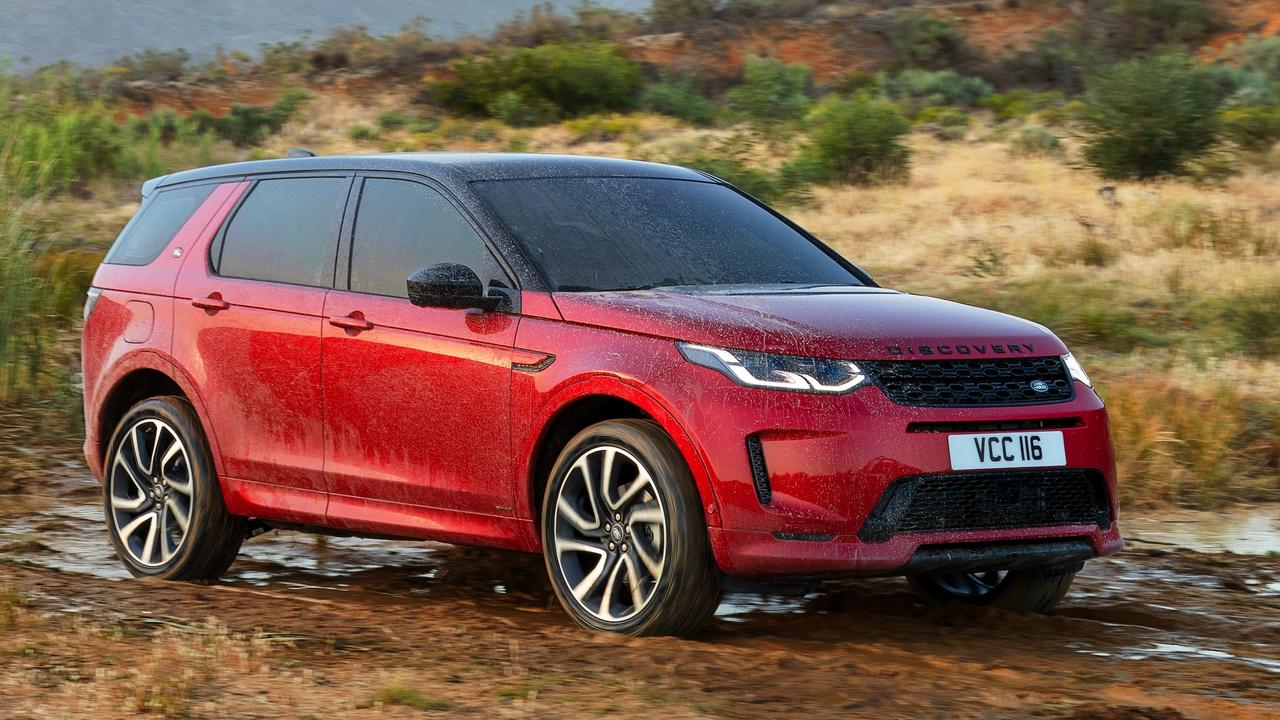 The Land Rover Discovery Sport MY20.