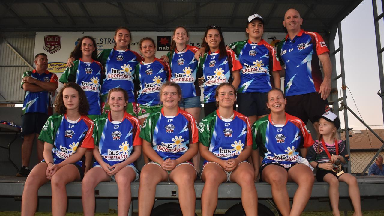 U17 Girls Dream Team – Adrian Vowles Cup 2020.