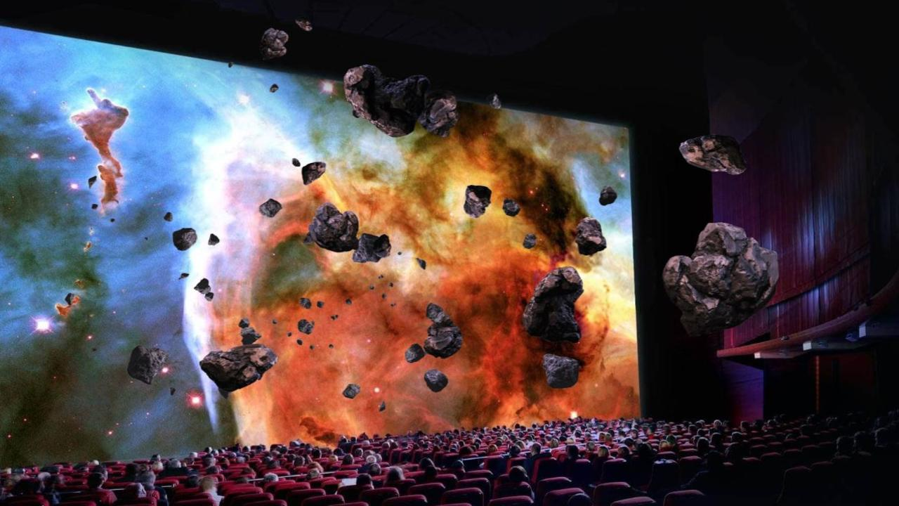 A cinema in Sydney is Australia's first to be outfitted with new technology cinema chains hope will drag people away from their TVs.