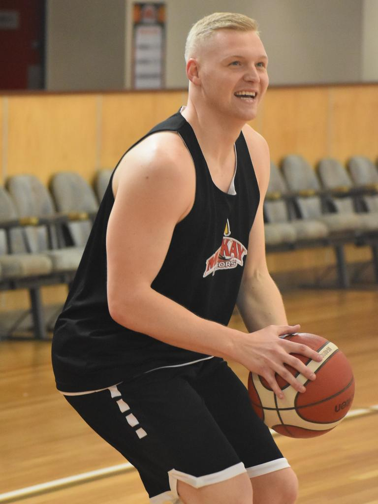 Bryan Michaels has joined the McDonald's Mackay Meteors for the 2020 NBL1 North Season. Picture: Aidan Cureton