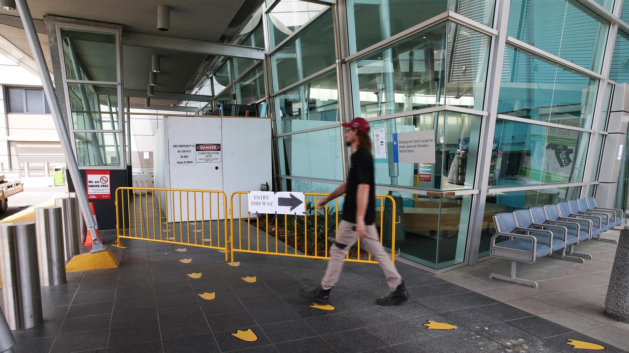 A Logan man is being treated in isolation at Princess Alexandra Hospital.