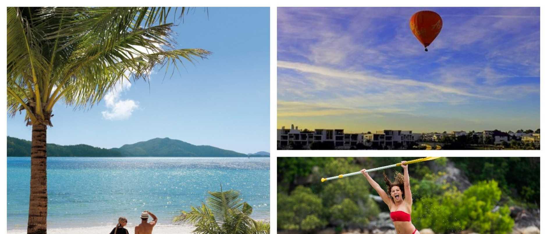 Queensland travel deals splash artwork