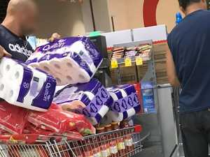 'It's crazy': Inside Australia's toilet roll buying panic