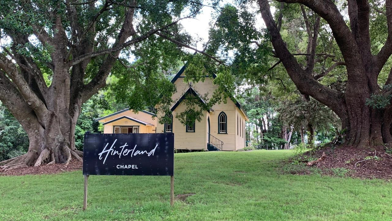 A fortnightly, non-denominational, independent religious service is being held at the new Hinterland Chapel.