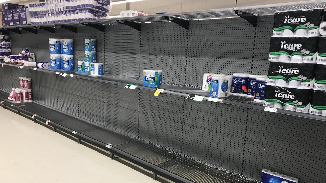 Toilet paper stocks are running low across the country, including across the Redlands.