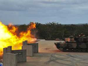Defence Force firing tanks at Camp Kerr this weekend