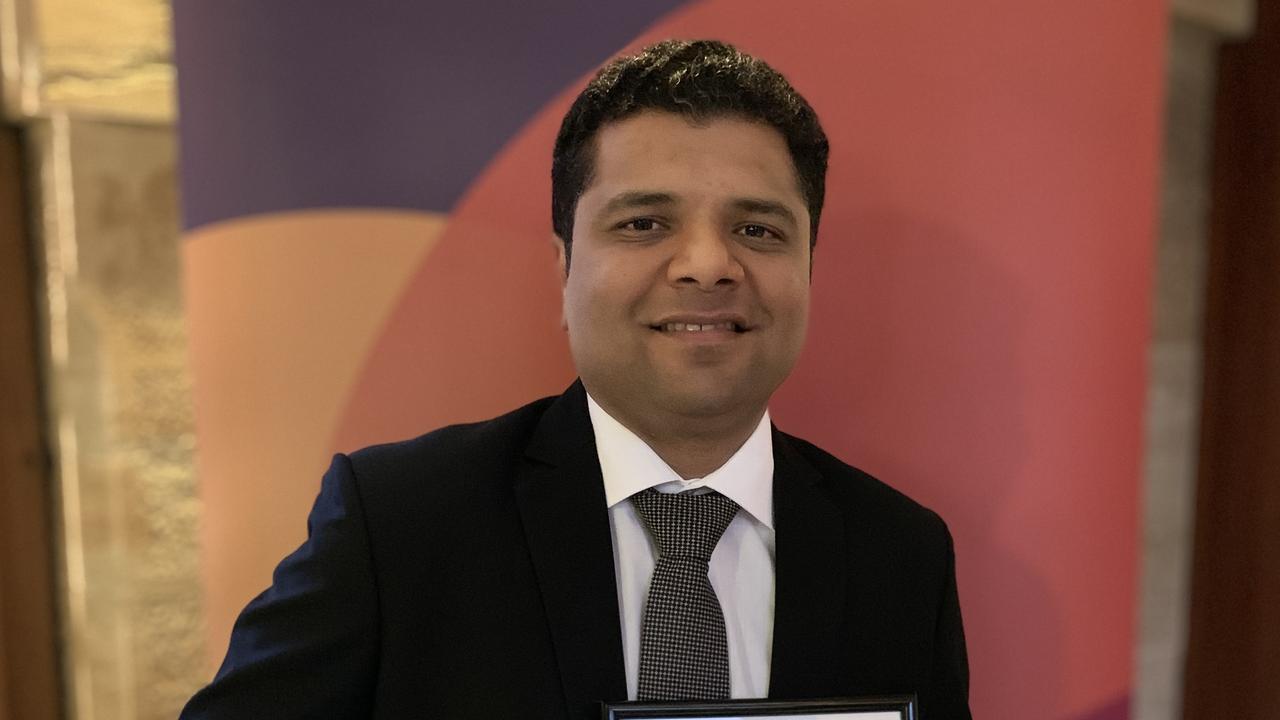 Innovation award finalist Dr Devang Desai.