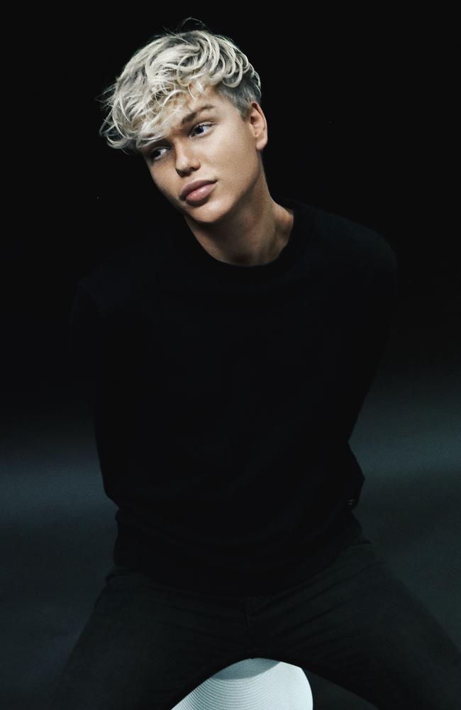 Singer Jack Vidgen. Picture: SBS-TV