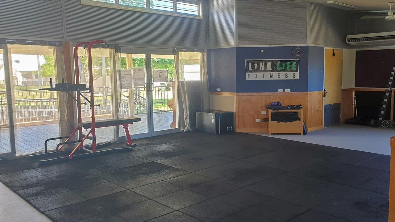 Halina Williams' fitness studio Lina Life Fitness.