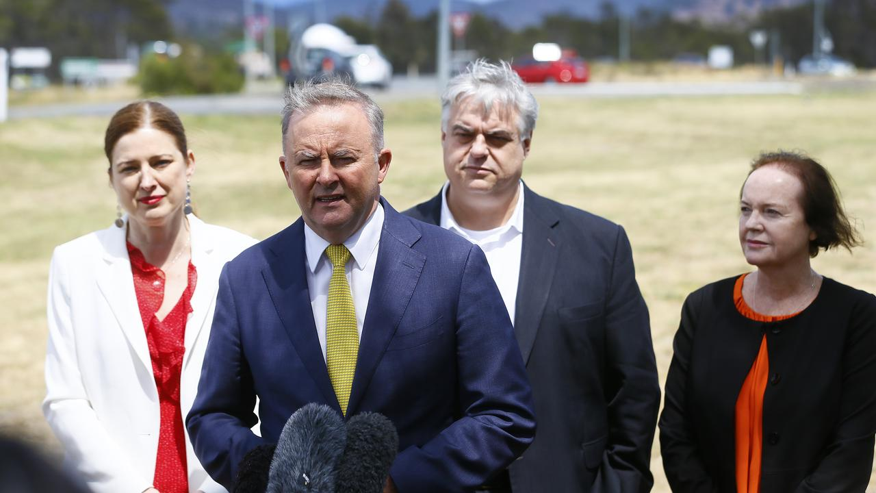 Labor leader Anthony Albanese has mocked his Liberal and National opponents while campaigning for the upcoming Eden-Monaro by-election.
