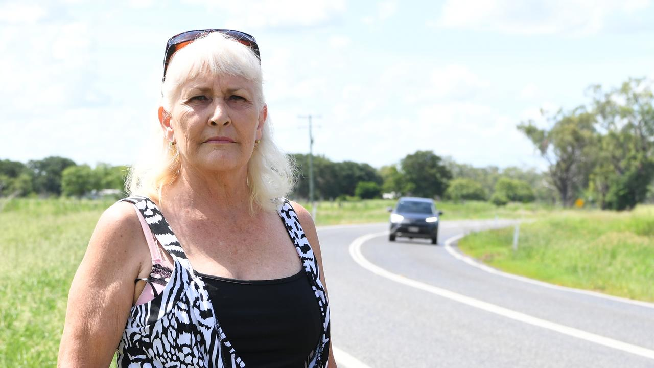 OUTRAGE: Susan Plummer wants to know why her six-year-old granddaughter was left to walk this stretch of road alone