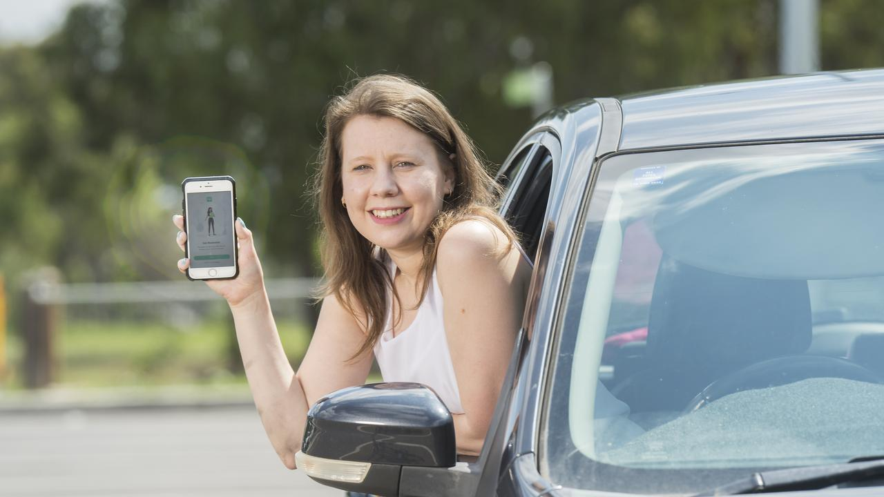 Olivia Antoniou, 26, recently shopped around to get a better deal on her car insurance. Picture: Rob Leeson.
