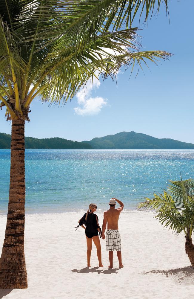 Hamilton Island is a famous Queensland destination.