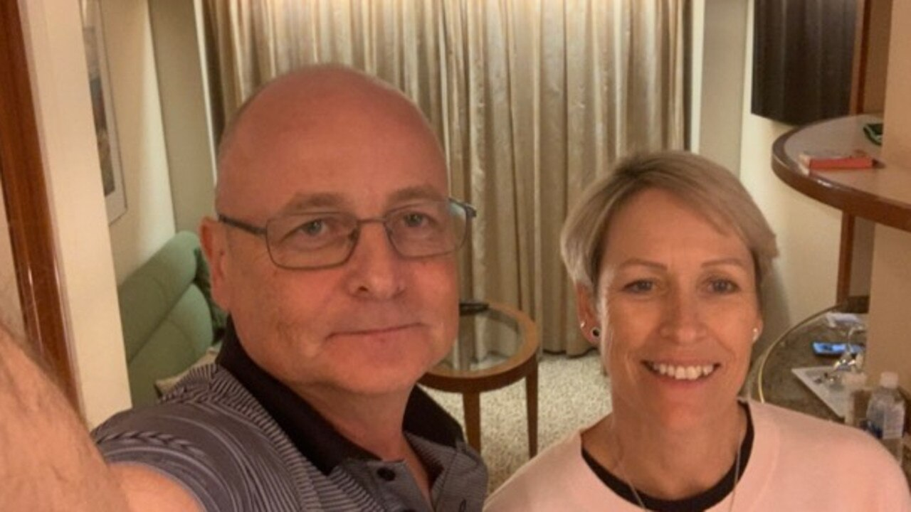 Paul and Jacqueline Fidrmuc were aboard the Diamond Princess when they were quarantined off Yokohama after a passenger tested positive to novel coronavirus.