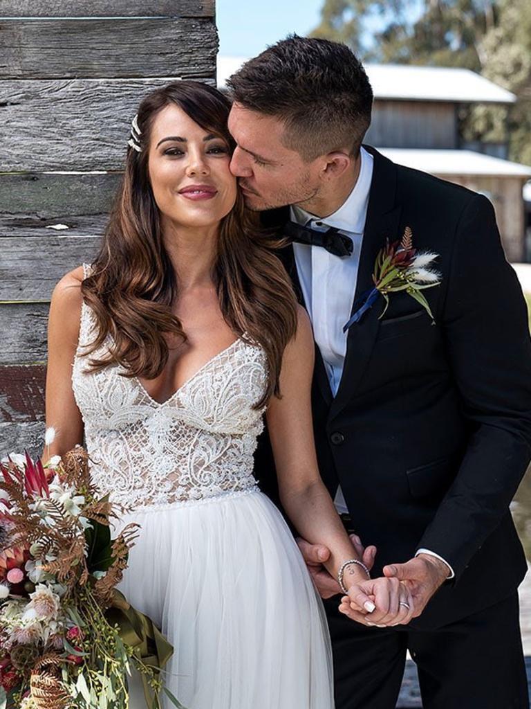 Drew married KC.