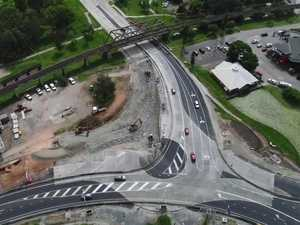 South Grafton roundabout progress