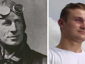 No pressure, but you're related to a famous aviation pioneer