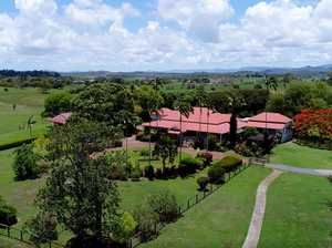Birds eye view of Greenmount Homestead