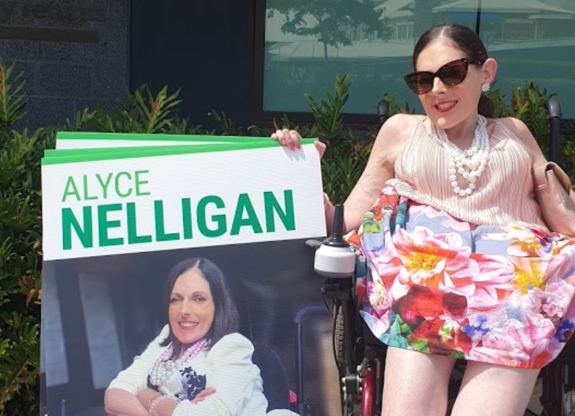 TRC election candidate Alyce Nelligan.
