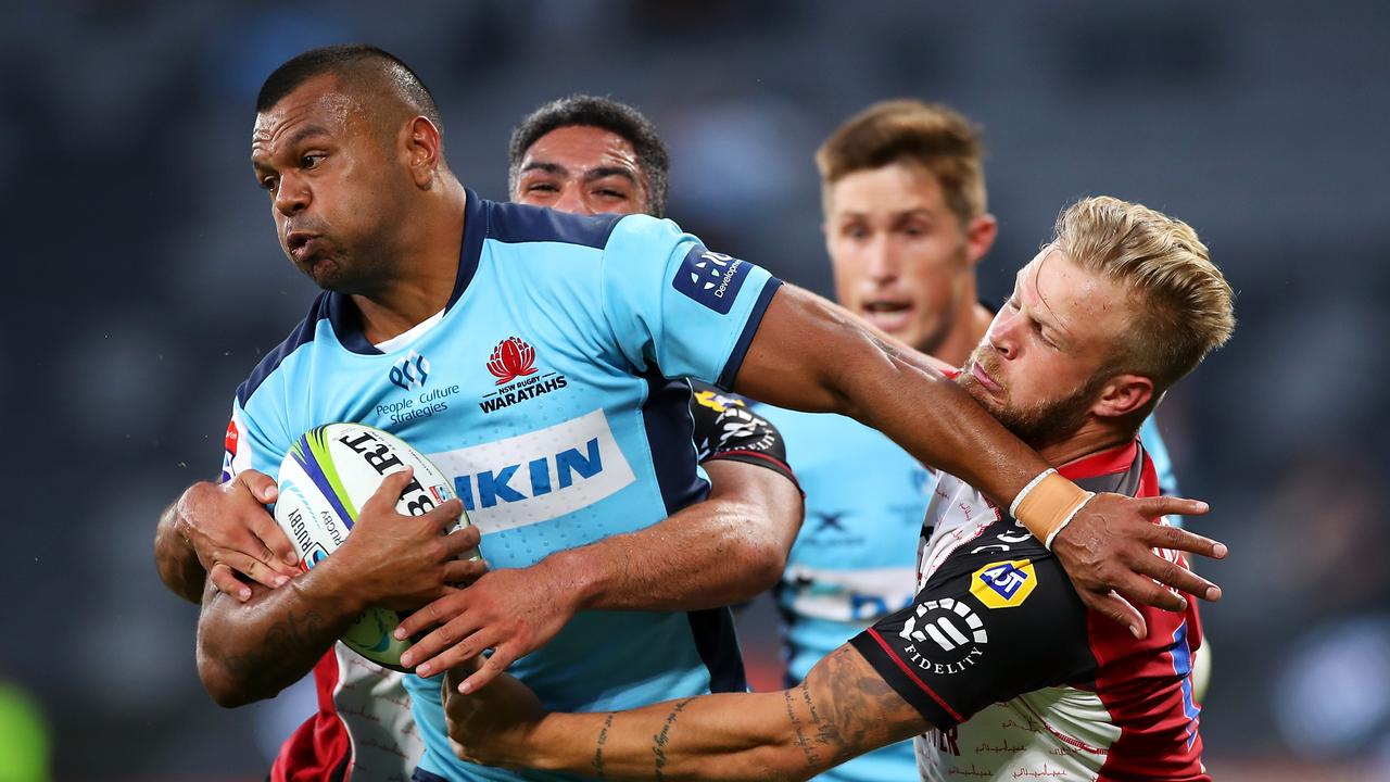 Wallabies and Waratahs great Kurtley Beale is set to join Racing Metro in the Top 14. Picture: Mark Kolbe/Getty