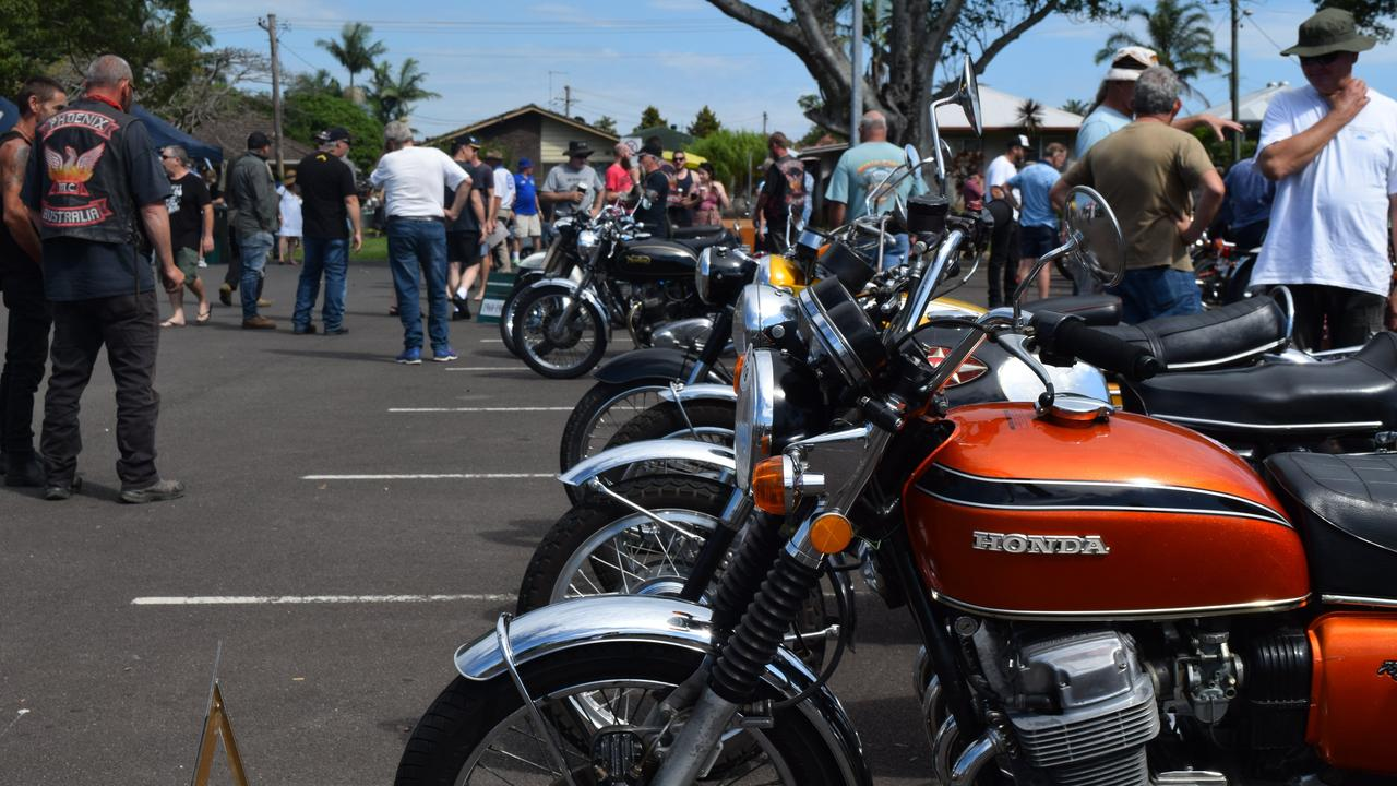 Last years' Northern Rivers Classic Motorcycle Club, annual Show 'n' Shine event drew a large crowd.