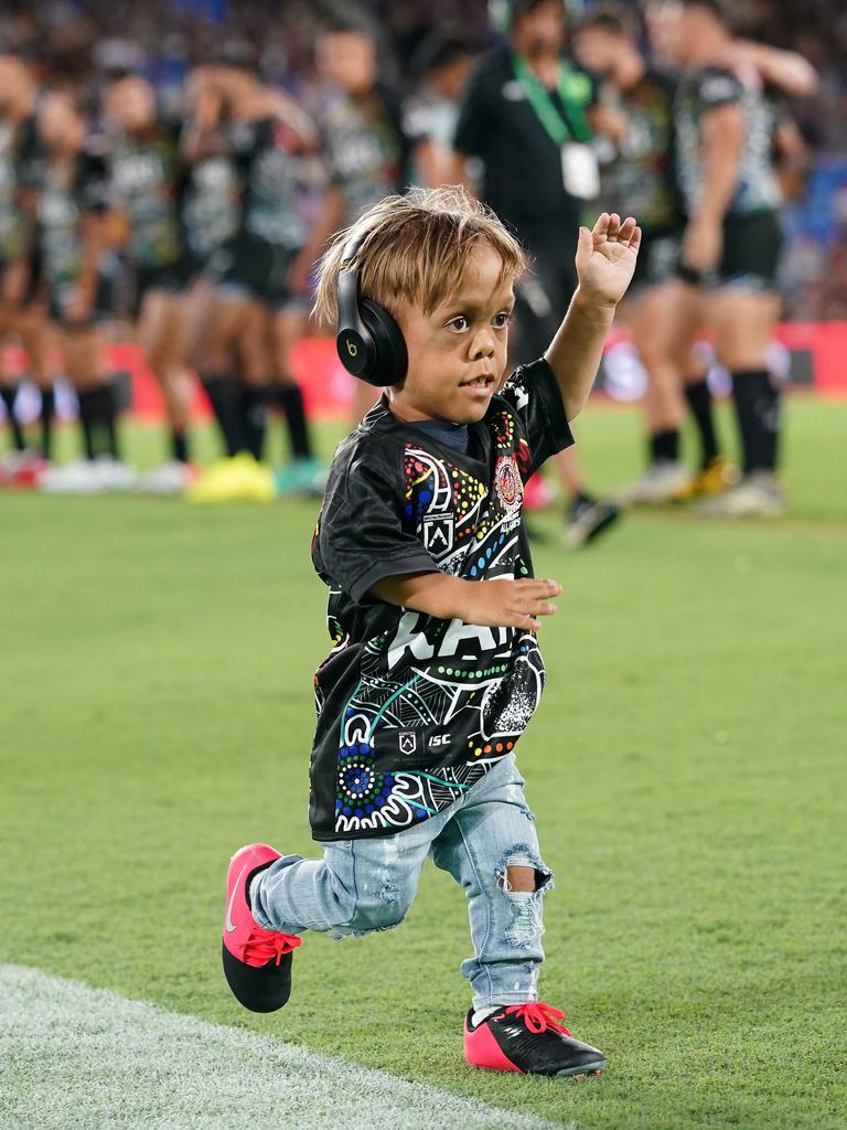 Quaden Bayles lives with Achondroplasia, a common form of dwarfism. Picture: AAP Image/Dave Hunt