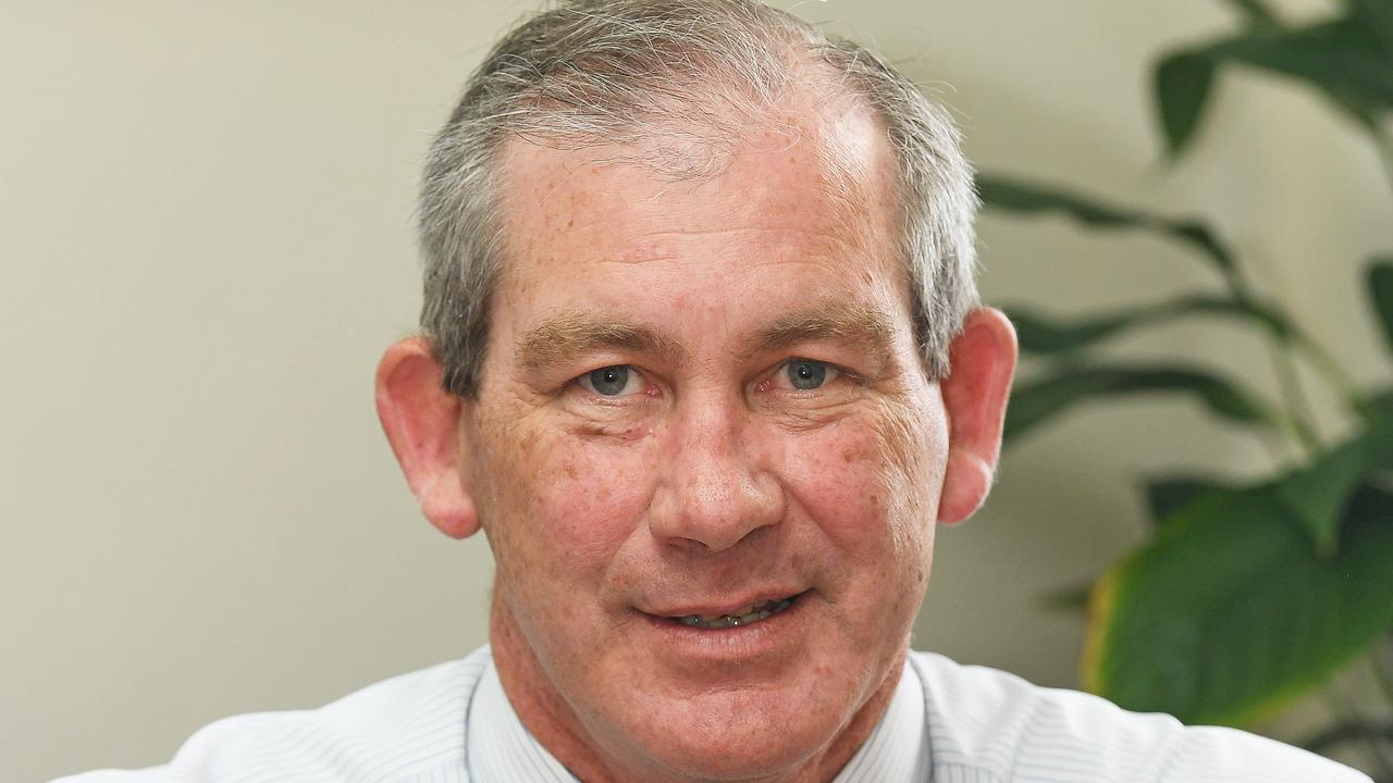 Gympie Mayor Mick Curran